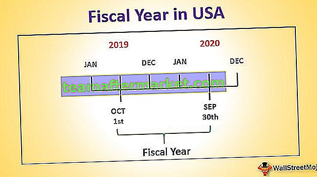 Geschäftsjahr in den USA