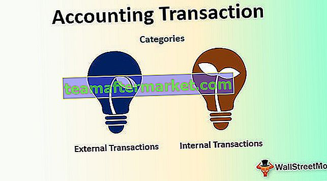 Transaction comptable