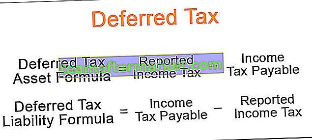 Taxe différée