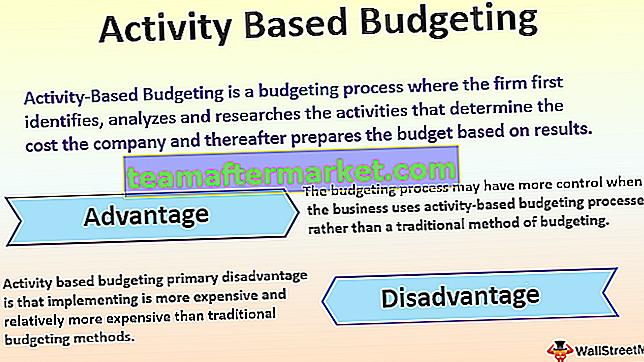 Aktivitätsbasierte Budgetierung