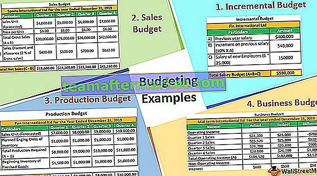 Budgetierungsbeispiele