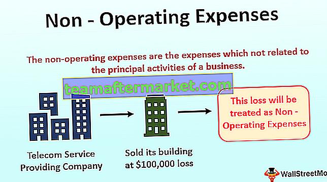 Niet-operationele kosten