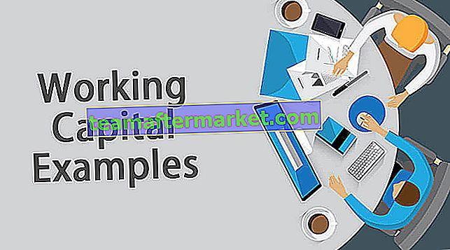 Beispiele für das Betriebskapital