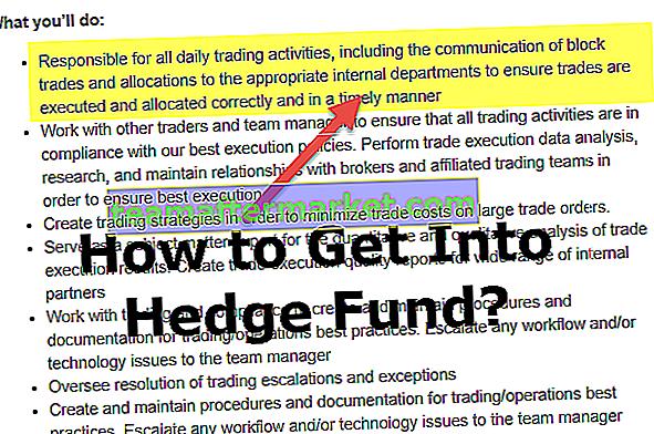 Comment entrer dans un hedge fund?