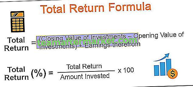 Formule de rendement total