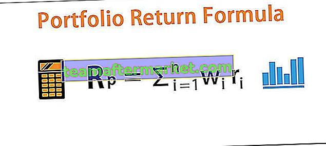 Formule de rendement du portefeuille