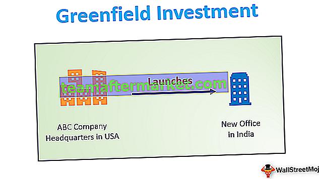 Investissement Greenfield