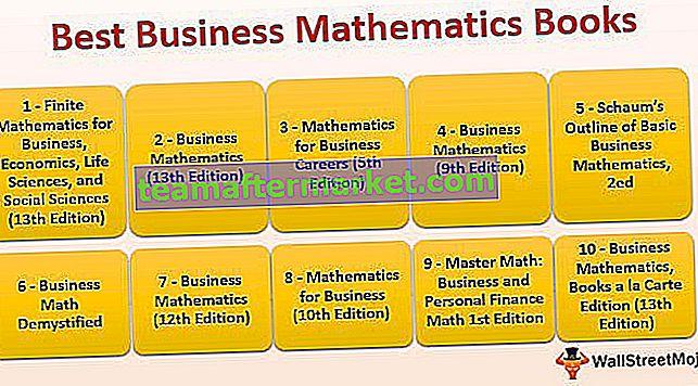 Livres de mathématiques commerciales