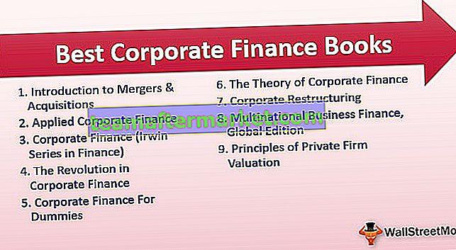 Top 9 beste boeken over bedrijfsfinanciering