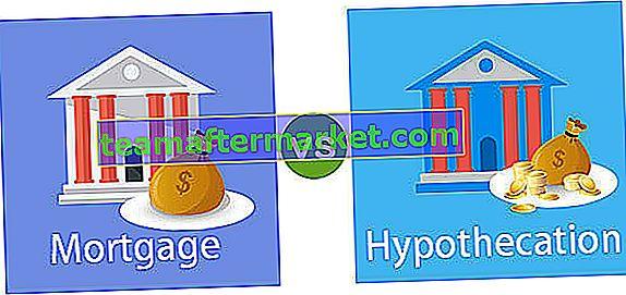 Verschil tussen hypotheek en hypothecatie
