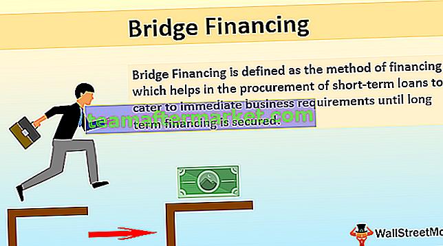 Overbruggingsfinanciering