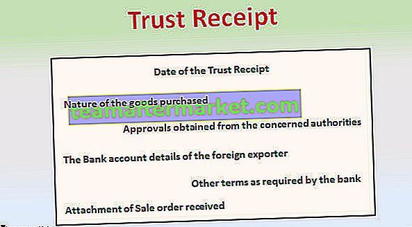 Trust-ontvangstbewijs