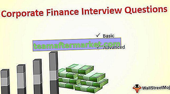 Corporate Finance sollicitatievragen (met antwoorden)
