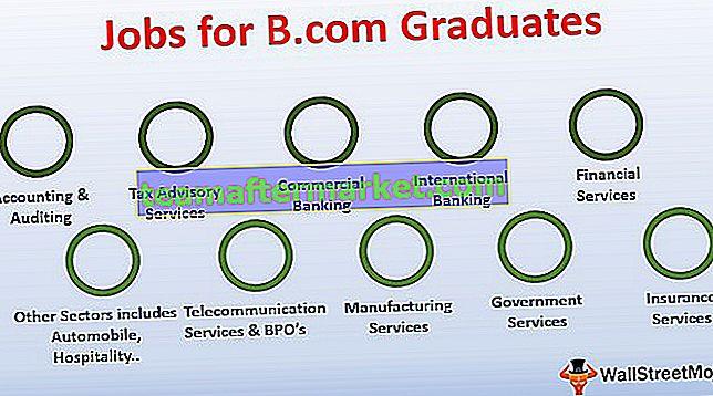 Top 10 banen voor afgestudeerden van B.com (eerstejaarsstudenten)