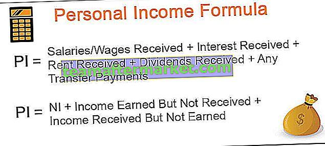 Persönliches Einkommen