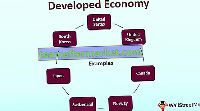 Entwickelte Wirtschaft