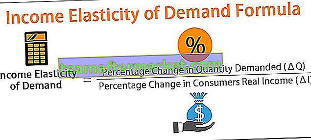 Einkommenselastizität der Nachfrageformel