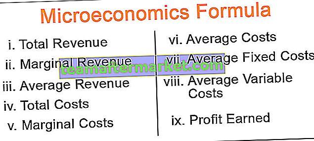 Mikroökonomische Formel