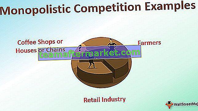 Beispiele für monopolistische Wettbewerbe