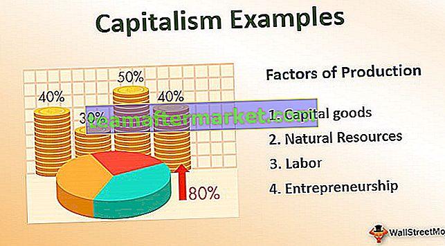 Beispiele für den Kapitalismus