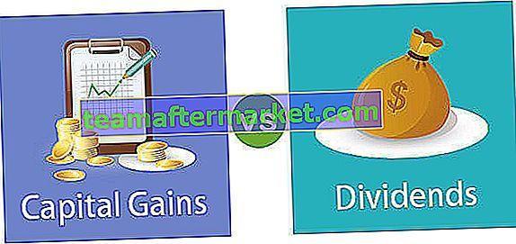 Ganhos de capital vs dividendos