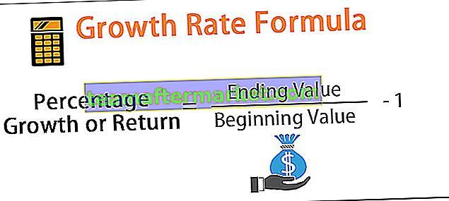 Wachstumsratenformel