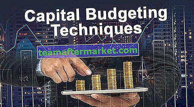 Kapitalbudgettechniken