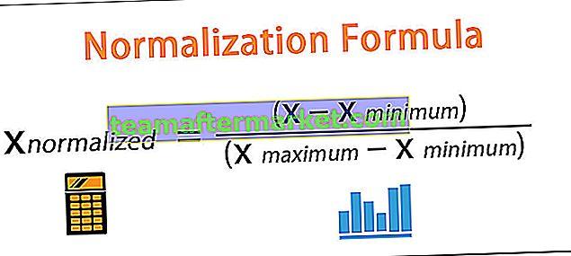 Normalisierungsformel