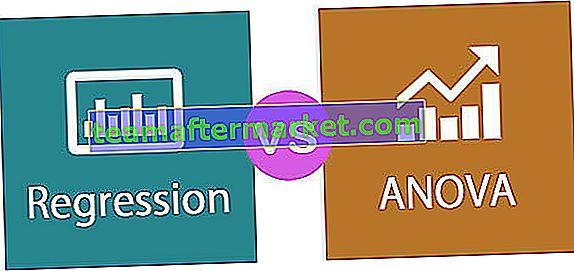 Regression gegen ANOVA