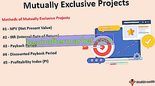 Sich gegenseitig ausschließende Projekte