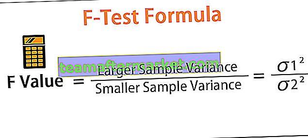 F-Test Formel