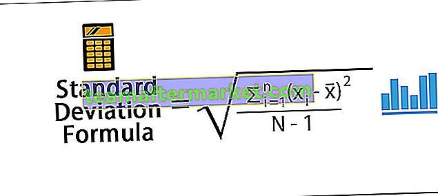 Standardabweichungsformel