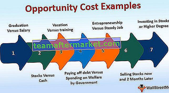 Beispiele für Opportunitätskosten