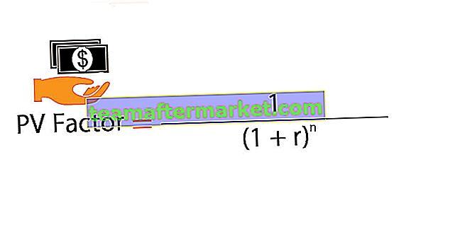 Contante waarde factor (PV)