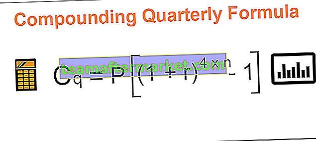Zusammengesetzte vierteljährliche Formel