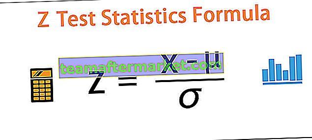 Formule de test Z