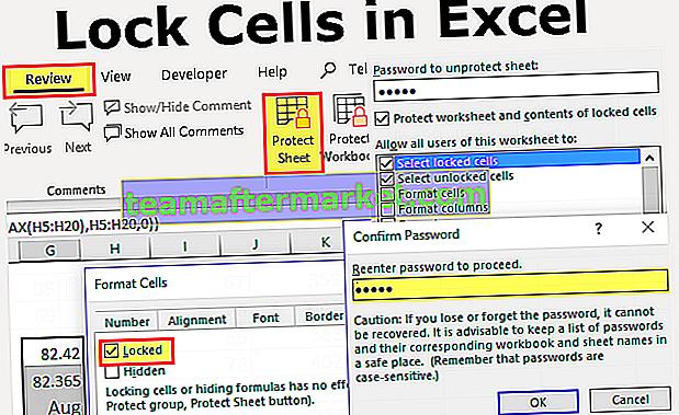 Zellen in Excel sperren