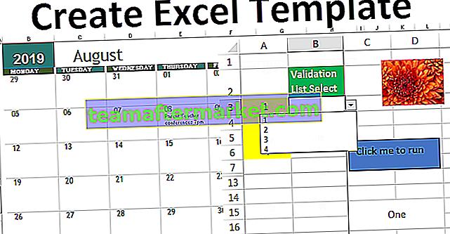 Créer des modèles dans Excel