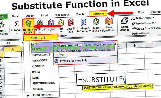 Fungsi Pengganti di Excel