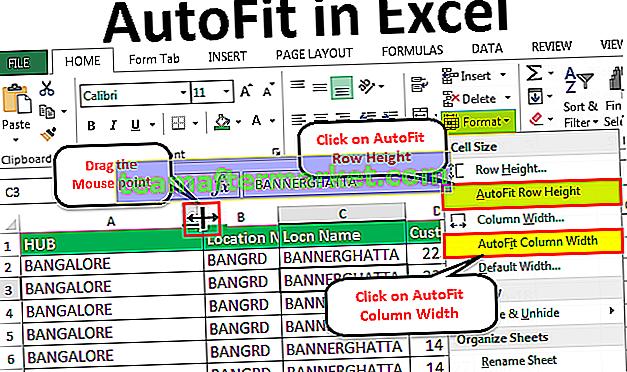 Adattamento automatico in Excel
