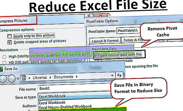 Reduzieren Sie die Größe der Excel-Datei