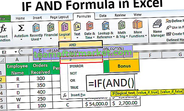 SI ET dans Excel