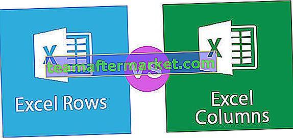 Excel-Zeilen gegen Spalten