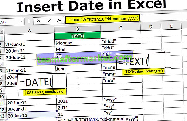 Datum in Excel einfügen