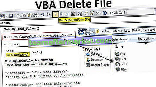 Supprimer le fichier VBA