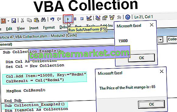 Collection VBA