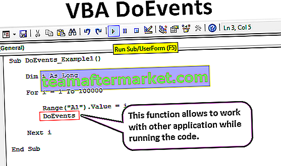 VBA DoEvents