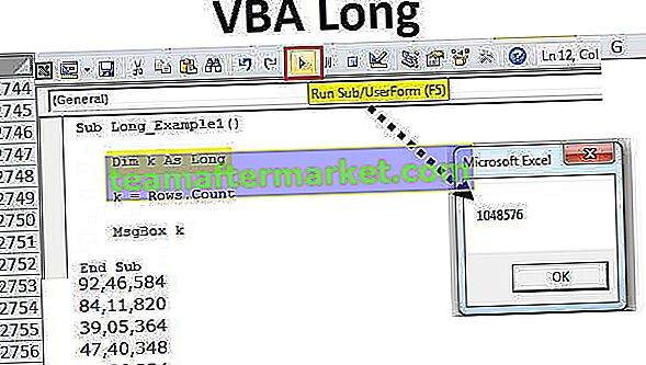 VBA Long
