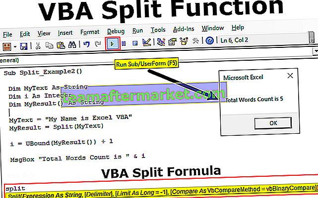VBA-Split-Funktion