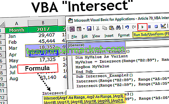 VBA Intersect